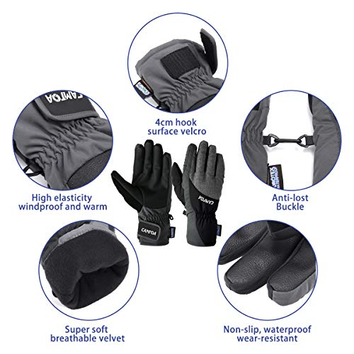 Zoom IMG-3 camtoa guanti da sci l