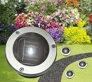 solar wegeleuchte solar gartenbeleuchtung 5 sets mit verschiedenen mengen 12 er set amazon. Black Bedroom Furniture Sets. Home Design Ideas