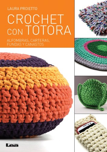 Crochet con totora Manos Maravillosas nº 14