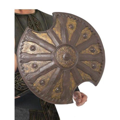 ehör Achilles Schild Bronze antiker Krieger Larp (Achilles Halloween-kostüm)