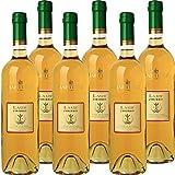 Laus Zibibbo Terre Siciliane IGP | Vino Liquoroso | I Vini della Sicilia | Confezione 6 Bottiglie da 75 Cl | Idea Regalo