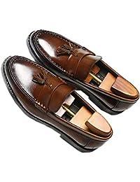 Mocasines Para Hombres Zapatos Casuales Con Borlas Casuales Cómodos Y Ligeros Zapatos De Punta Redonda Mocasines