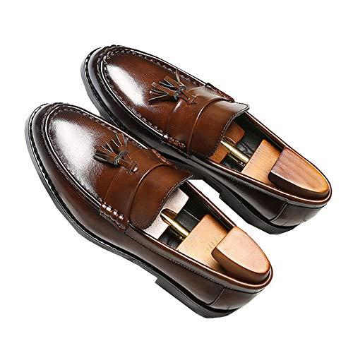 Mocasines Para Hombres Zapatos Casuales Con Borlas