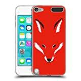 Official Robert Farkas Foxy Shape Fox Soft Gel Case for Apple iPod Touch 5G 5th Gen