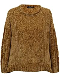 1a1a1c35c Brave Soul Ladies Chenille Jumper Womens Knitted Tibet Long Sleeved Winter  New
