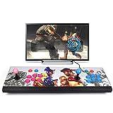 TODAYTOP 2260 in 1 Arcade-Videospiel-Konsole 1080P 3D Full HD Arcade-Maschine, Konsole, Spielmaschine, unterstützt TF-Karte für PC/Laptop/TV/PS4