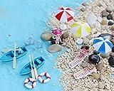 Bombom Tree 22 Pcs Beach Style Miniature Ornament Kits Set for DIY Fairy