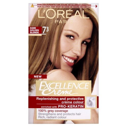 loreal excellence permanent hair colour 73 dark golden blonde by loreal - Coloration L Oreal Blond