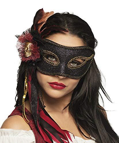 (Unbekannt Luxus Piraten Augenmaske - Venice Bella Pirata - vertrieb durch ABAV)