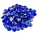 ARSUK Cristal Piedras para Acuario y Decoración Azul Color- 200pcs (1KG)