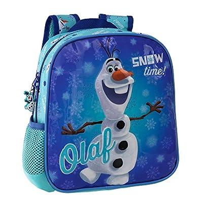 Disney Olaf Snow Mochila Preescolar, Color Azul, 5.75 Litros de Disney