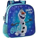 Disney Olaf Snow Mochila Preescolar, Color Azul, 5.75 Litros