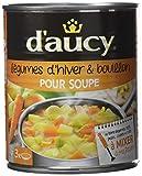 d'aucy Légumes d'Hiver/Bouillon pour Soupe 800 g