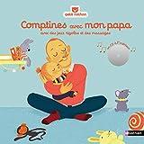 Comptines avec mon papa - Livre CD - Dès 6 mois