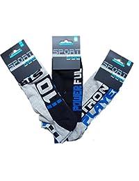 SOCKS Men's Athletic Socks multicolour multicolored 7/11