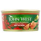 John West Red Salmon Skinless & ohne Knochen 170 g