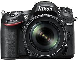 Nikon D7200 Appareil photo numérique Réflex 24,72 Mpix Kit Boîtier + Objectif 18-105 mm ED VR Noir
