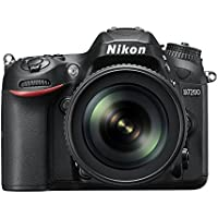 Nikon D7200 Digital SLR Camera (24.2 MP, 18-105 mm VR Lens, Wi-Fi, NFC) 3.2-Inch LCD Screen