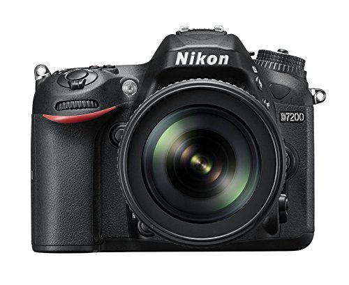 Nikon D7200 - Cámara réflex Digital de 24.2 MP (Pantalla de 3.2', FHD, WiFi), Color Negro - Kit...