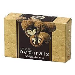 AVON NATURASL EXFOLIATING BAR SOAP 100G
