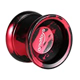 Ametoys Professional Magic Yoyo Hochgeschwindigkeits-Aluminiumlegierung Yo-yo CNC-Drehmaschine KK Lager mit spinnender Schnur für Jungen Mädchen Kinder