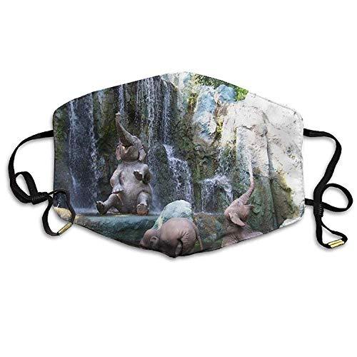 Máscara de Boca para Exteriores con diseño de Elefantes para bebés, máscara...