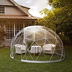 Garden Igloo, Translucide, 360 x 360 x 220 cm