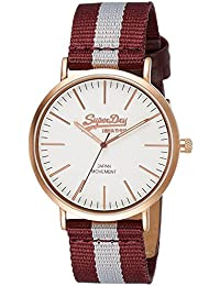 Superdry Analog White Dial Men's Watch - SYG183VE