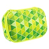 ZIPIT Colorz Box Federmäppchen, Grüne Dreiecke