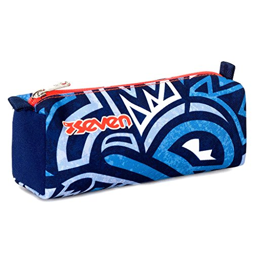 Bustina seven , maori , blu