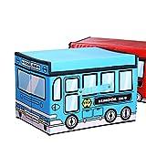 Aufbewahrungsbox faltbar Multifunktions Wasserdicht Tragbar Dresser Schublade Schrank Organizer Container Mit staubdichten Deckel blau