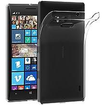Nokia Lumia 930 Funda, iVoler TPU Silicona Case Cover Dura Parachoques Carcasa Funda Bumper para Nokia Lumia 930, [Ultra-delgado] [Shock-Absorción] [Anti-Arañazos] [Transparente]- Garantía Incondicional de 18 Meses