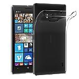 Nokia Lumia 930 Coque, iVoler [Liquid Crystal] Case Coque Housse Etui Ultra Hybrid TPU Silicone,[Extrêmement Mince Souple et Flexible] [Peau Transparente] [Shock-Absorption Bumper et Anti-Scratch Effacer Back] pour Nokia Lumia 930 (Bumper - HD Clair) -G