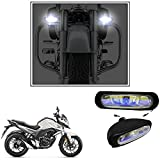 #7: Vheelocityin 55W Bar (set of 2) Auxillary Lamps FogLamp Halogen Light for ALL Car and Bikes For Honda CB Hornet 160R