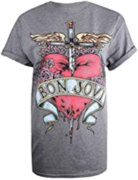 Bon Jovi Heart Tattoo, Camiseta para Mujer