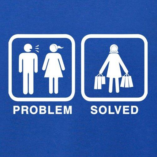 Problem gelöst - Einkaufen - Herren T-Shirt - 13 Farben Royalblau