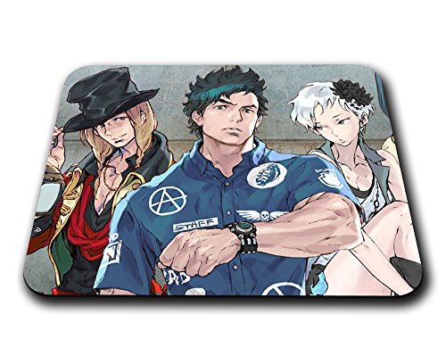 Instabuy Characters Mousepad The Nonary Games (B) - Zero Escape Mouse Pad