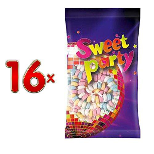 Sweet Party 22 Snoeplkettingen 16 x 60g Beutel (Traubenzucker - Knabberketten)