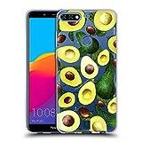 Head Case Designs Frisch Gepflueckt Alles Ueber Avocados Soft Gel Hülle für Huawei Honor 7C / Enjoy 8