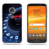 Motorola Moto E5 Hülle, Motorola Moto G6 Play Handyhülle, DIKAS Slim Fit Shockproof Flexible 3D Contemporary Chic Ultra Thin Lightest Durable für Motorola Moto E5 E (5th Gen.) / G6 Play 5.7