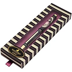 Santoro Gorjuss colección clásica rayas caja slim metal Pen–Oops a Daisy
