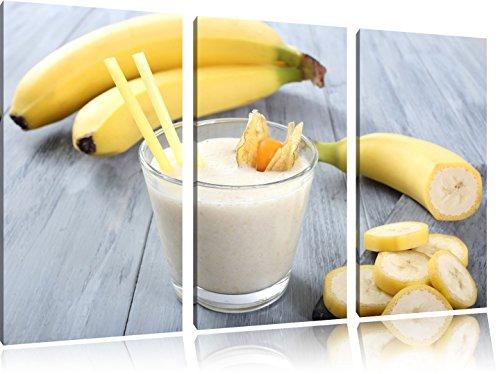 Seductive Banana Agitare 3 pezzi di immagini su tela 120x80