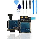 teparto SIM/Micro SD Kartenleser für Samsung Galaxy S4 i9500/i9505 mit Werkzeugset