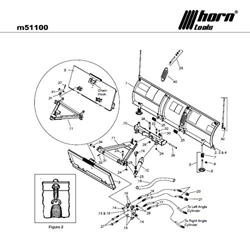 Schneepflug System DP EZ 229cm Traktoren/Lader Central Hydr. + Anbauplatte univ