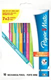 Paper Mate 2020 Mechanical Pencil HB 0.7 mm - Assorted Colours, Pack of 10