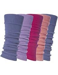 Sock Snob - Guêtres - Femme Multicolore bigarré Taille Unique