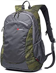 Al aire libre de gran capacidad de escalada mochila itinerante bolso casual , green