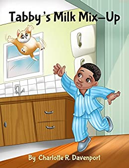 Tabby's Milk Mix-Up: Children's Animal Action and Adventure, Ages 3 to 5 (Alfred's Adventures Book 1) (English Edition) di [Davenport, Dr. Charlotte R.]