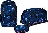 Satch Schulrucksack-Set 3-tlg Sleek Waikiki Blue 9L2 waikiki blue