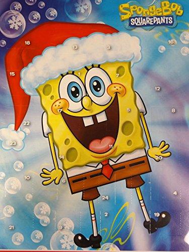 Spongebob Adventskalender mit Schokolade, 1er Pack (1 x 75g)
